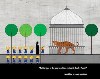 Madeline - Ludwig Behmelmans / Literary Quote - Art Print