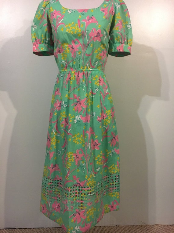 1980s Lilly Pulitzer dress