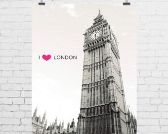 DIGITAL PRINT - I Heart London