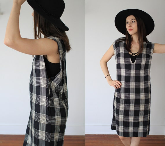Vintage 1950s large two piece dress + vest set / … - image 6