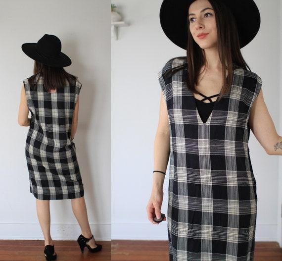 Vintage 1950s large two piece dress + vest set / … - image 5