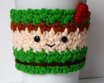 Häkeln Sie Peter Pan Tasse Kaffee gemütlich