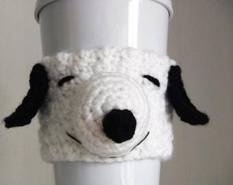 Häkeln Sie Snoopy Kaffee Tasse gemütlich