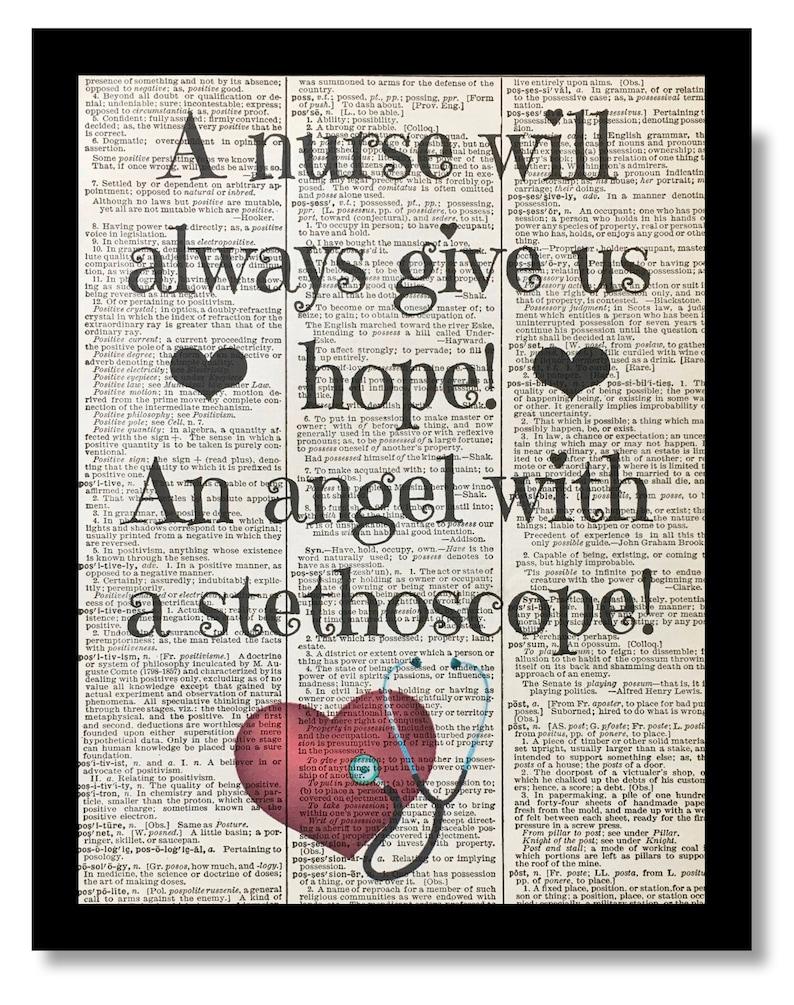 Nurse Art Prints Nurse Prints Nurses Day Nursing Gift Etsy