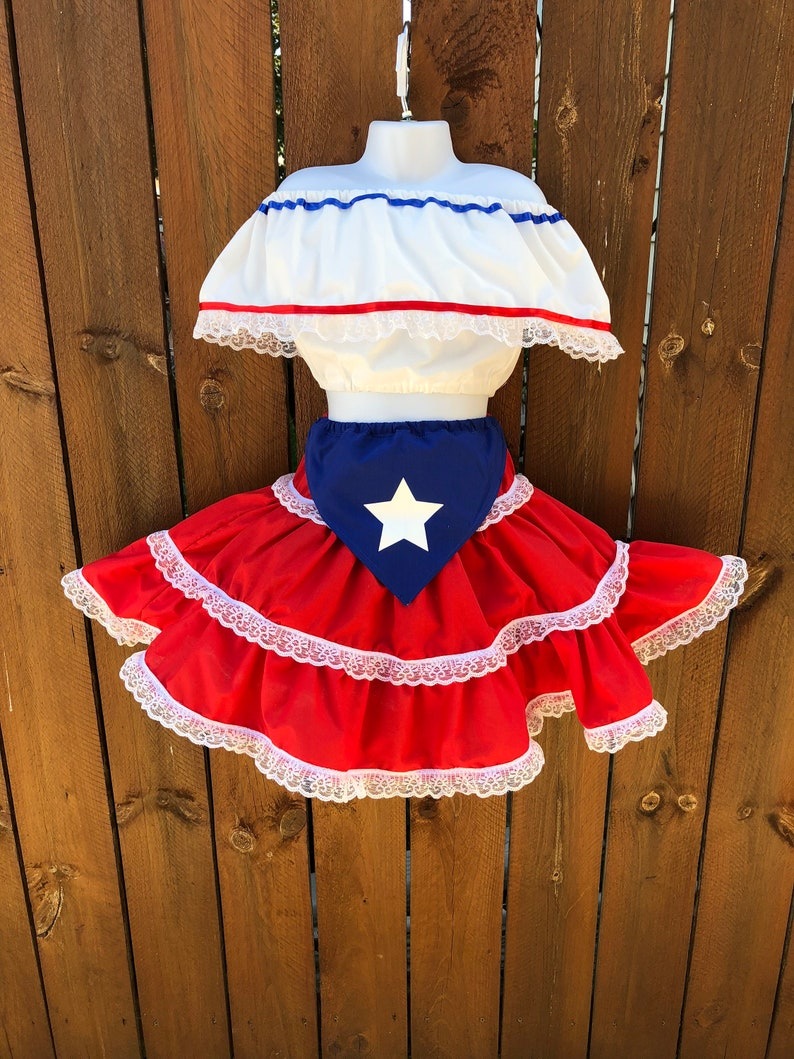 Puerto Rican Party Dress
