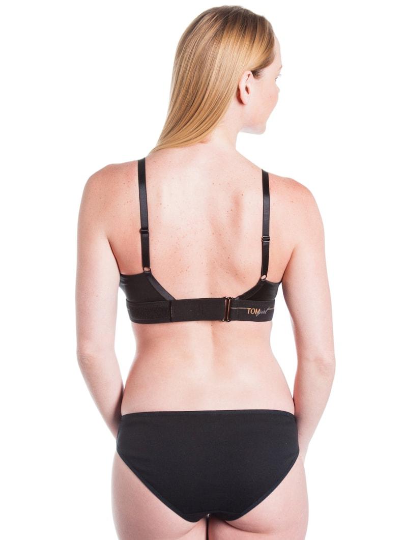 5af00075db 26F   26DDD Black Bralette Women s Sports Bra in Black