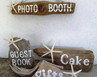 Driftwood Wedding Sign--Wedding Decor (Made to Order) Great gift idea peacelovedriftwood