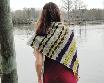Ripples in a Pond Wrap Pattern