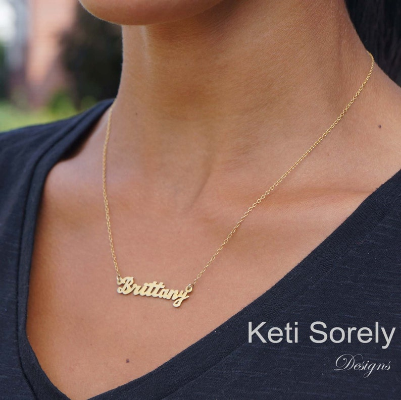 Personalized Name Necklace  Customize it With Your Name  image 0