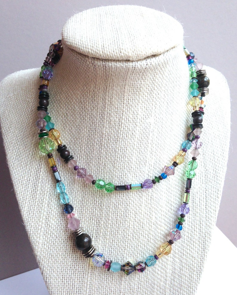 30 Inch Crystal Necklace Meantime
