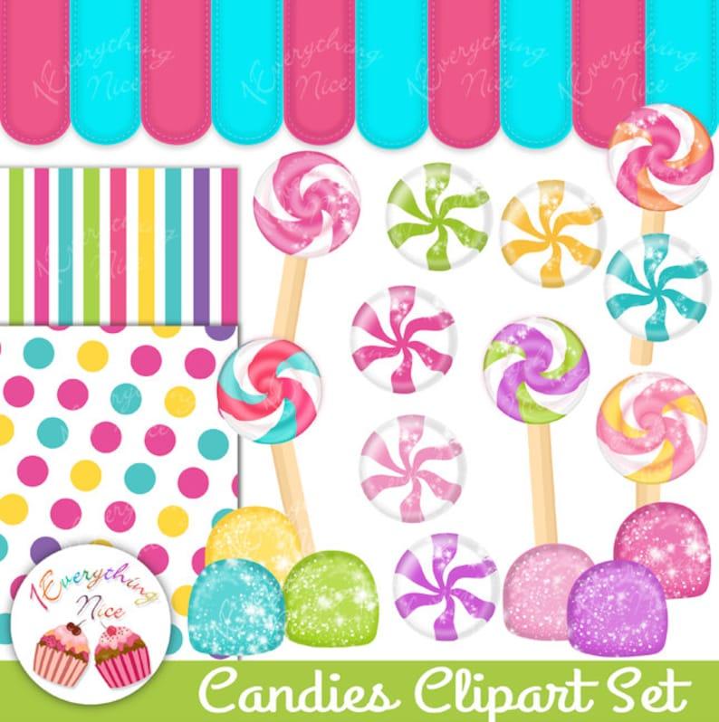 Candies 2 Clipart Set