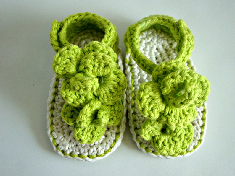 a065dbc242b22 baby sandals- crochet baby shoes - knit flower baby sandals - handmade  crochet sandals - summer sandals - baby sandals - flower baby sandals