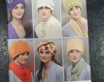 Simplicity  2494 Misses/' Fleece Hats Sewing Pattern