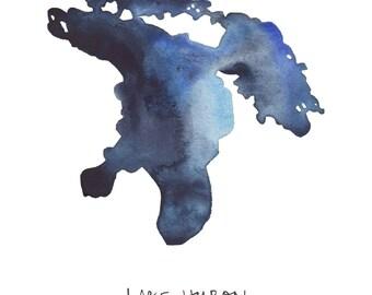 Lake Huron Print