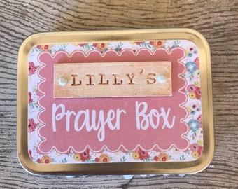 Prayer Box Etsy