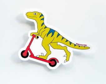 Micro scooter dinosaur vinyl sticker [pack of 3]