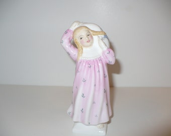 Pillow Fight, A Royal Doulton Figurine (HN2270)) (Retired)