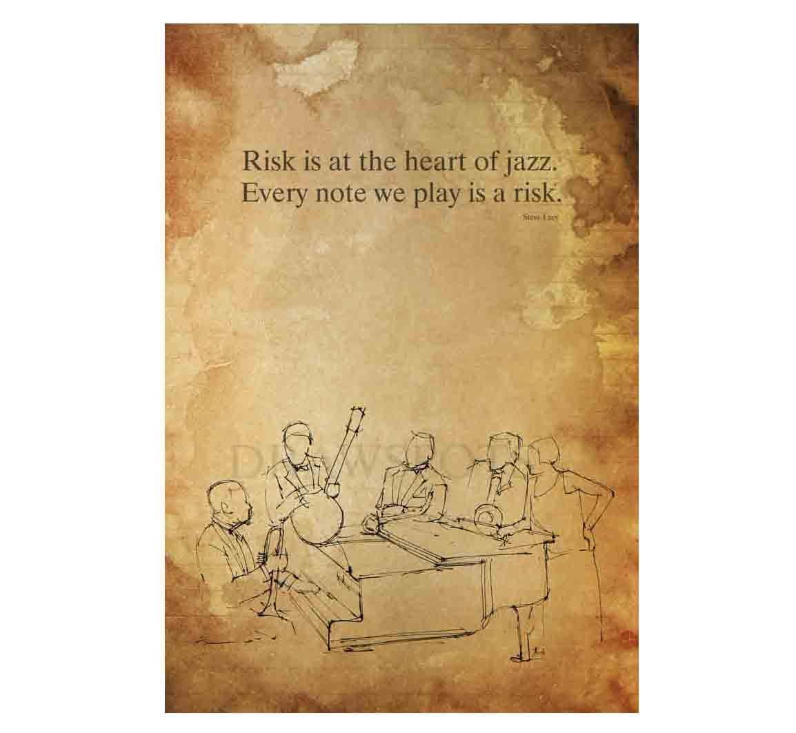 Original Art Print Steve Lacy Quote Jazz Quote Print | Etsy