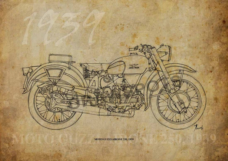 5baca43c6 MOTO GUZZI AIRONE 250 1939 1915 Based on my Original