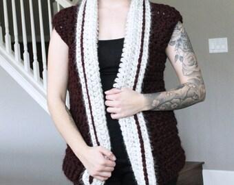 Juliet Vest Crochet Pattern // Easy to Intermediate // Written Pattern // Tutorial