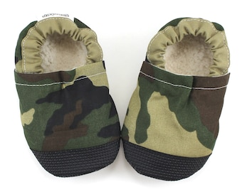 camo baby shoes Baby Boy shoes camouflage shoes army camo for baby camo clothing baby army clothes baby army shoes rubber sole camo slippers