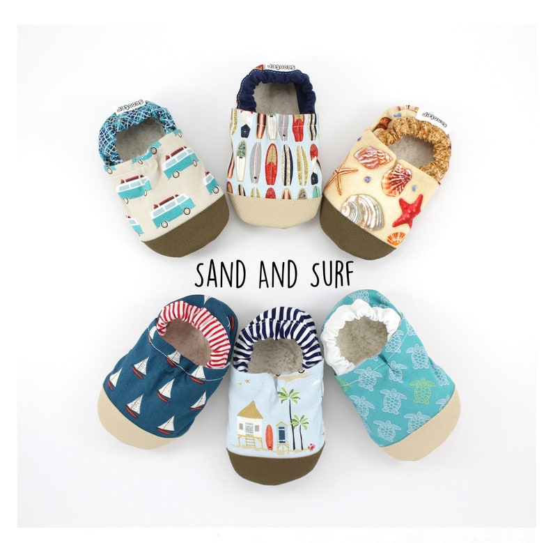 085aea03ea7f8 beach baby shoes - kids soft sole shoes - kids beach slippers - surfing  theme baby shower - first birthday gift - beach baby gift