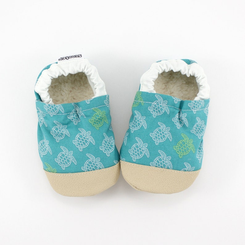 72284636afef7 sea turtle baby shoes - kids soft sole shoes - kids sea turtle slippers -  turtle theme baby shower - beach birthday gift - vegan baby gift