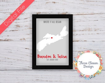 "Province ""Where It Began"" Printable Wall Art"