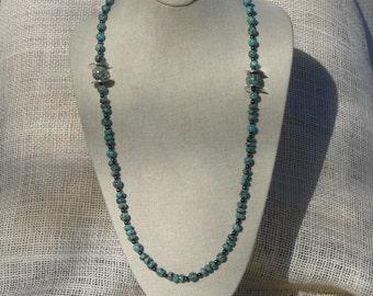 Chyrsocolla Necklace