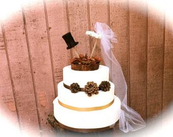 Fall Wedding Cake Topper Rustic Weddings