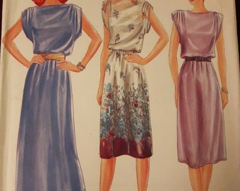 Butterick 3790, Misses Dress Sewing Pattern