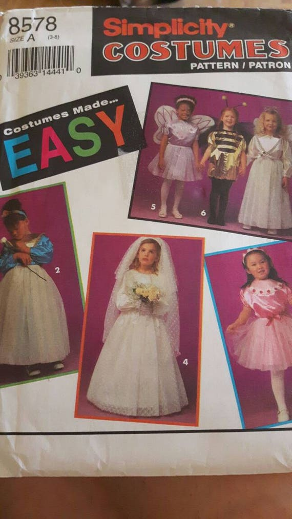 Mädchen-Halloween-Kostüm-Schnittmuster | Etsy