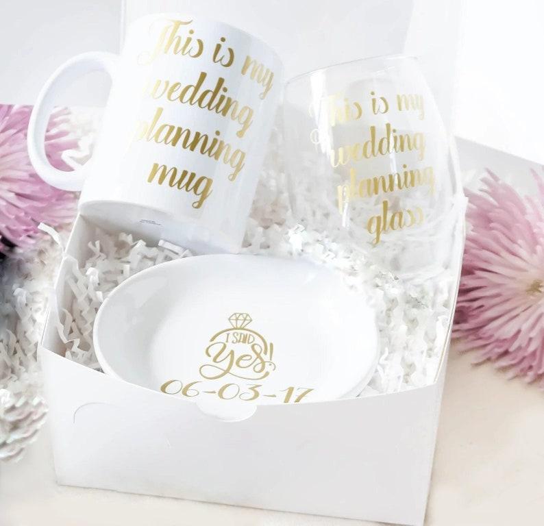 Wedding Planning Engagement Gift For Bride Future Mrs Mug Etsy