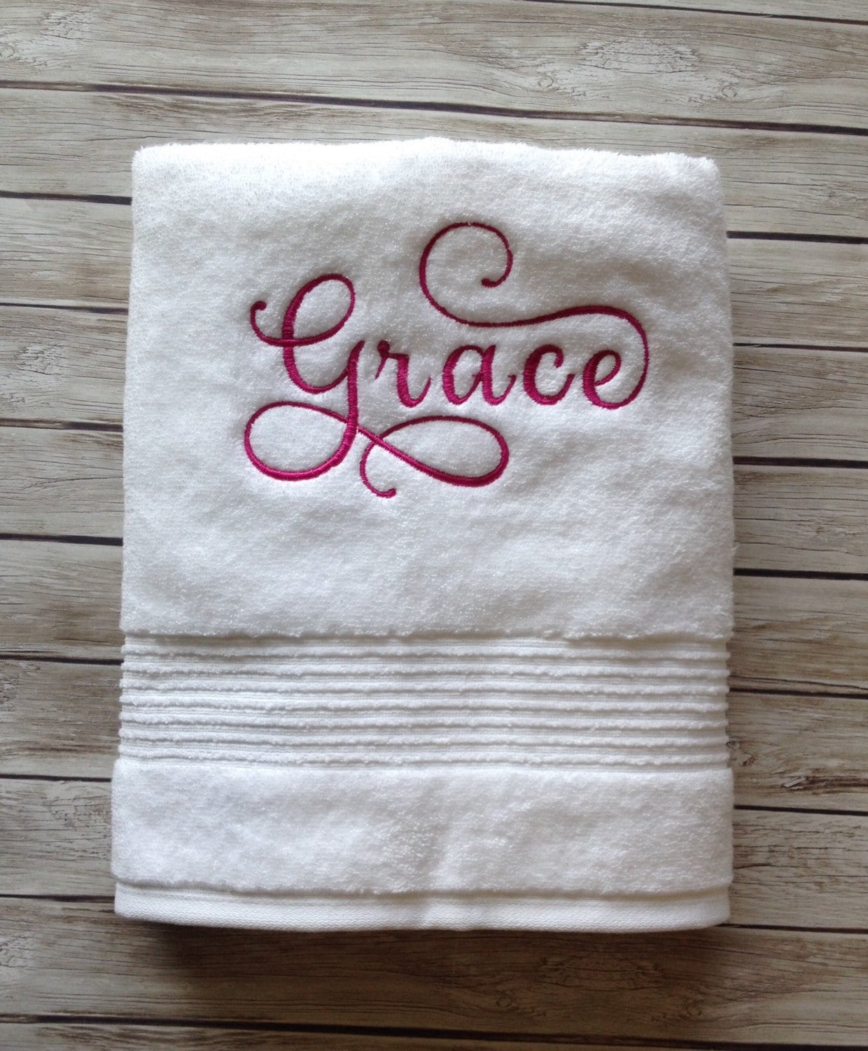Custom Towels Embroidered Towels Christmas Gift