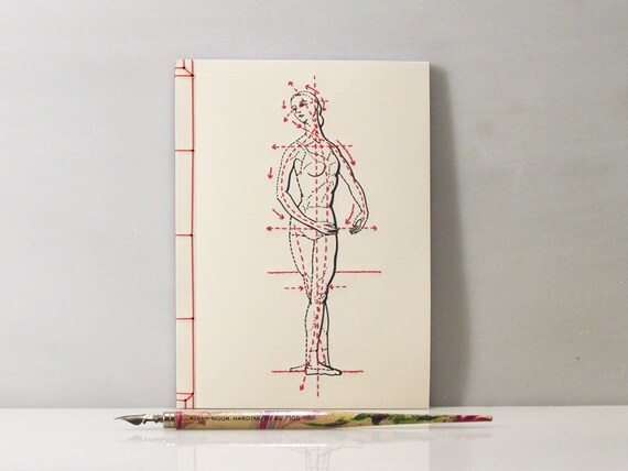Dance Journal Embroidered A5 Notebook Dance Notebook Etsy