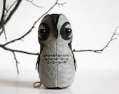Felt Toy Owl ForestMisha Stuffed Animal Owl