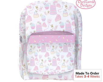 Frosting Backpack Fairy Kei Backpack Cupcake Backpack Cake Backpack Pastel Sweets Backpack Konpeito Kawaii Pastel *Month, MTO*