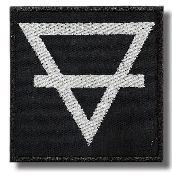 BUY ANY 3 GET 4 Alchemical symbol embroidered patch 3,2 X 3,2 INCH