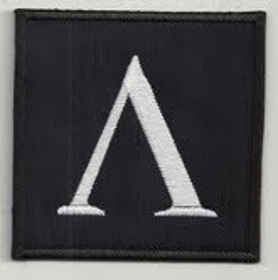 Ancient Greek Sparta Symbol 2 Embroidered Patch Buy3 Get4 Etsy