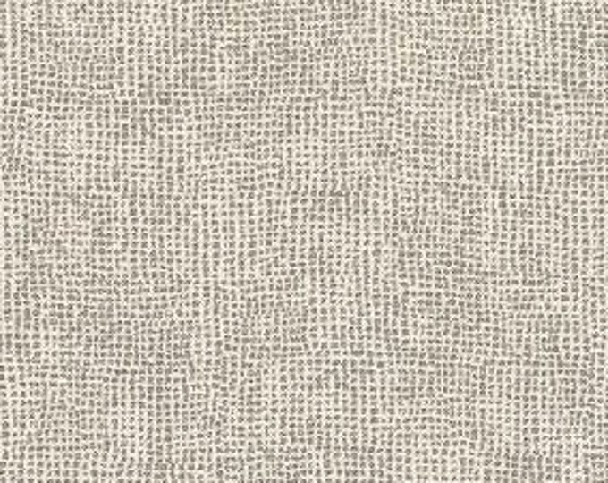 Romo - Mark Alexander fabric - Scatter in Aluminium - Gray and Off White Dot pillow cover - Designer Fabric