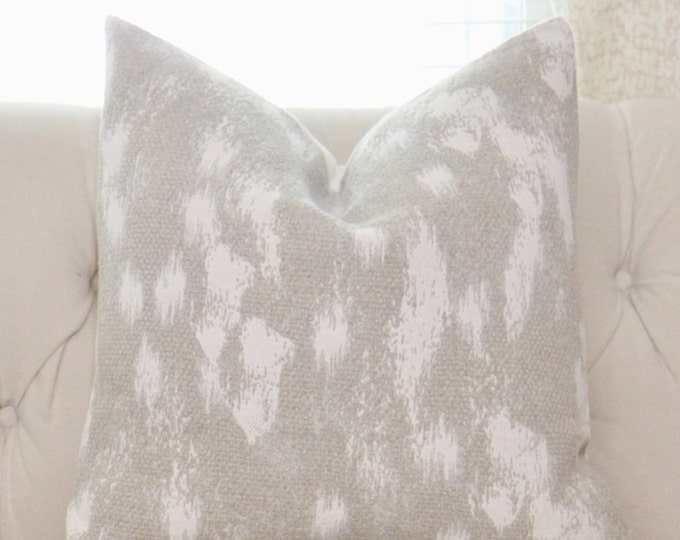 Neutral Pillow Cover - Sweater Pillow Cover - Ivory & Beige Pillow - Ivory Knit Pillow Cover - Fall Winter Home Decor - Greige Pillow