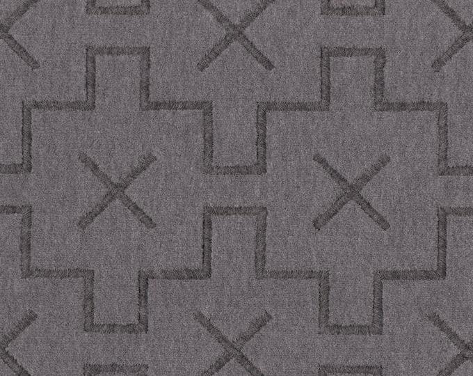 Grey Perennials Pillow Covers - Platinum Gray Pillow Cover - Gray Geometric Modern Home Decor