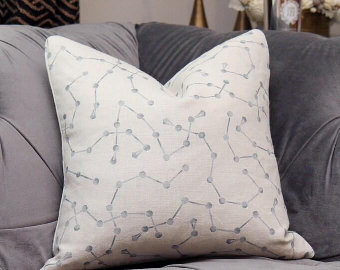 Zak and Fox Pillow Cover - JINGASA - Snow - Geometric Throw - Modern Graphic Designer Cushion