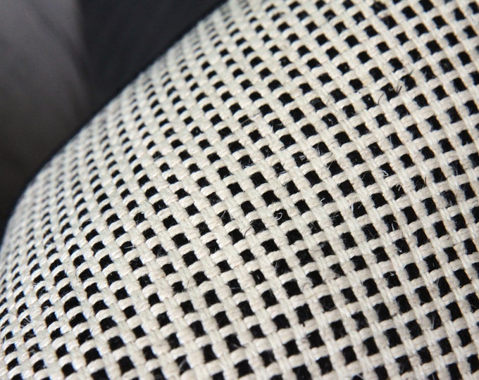 Kelly Wearstler Pillow Cover - Kumano Weave in ivory and black