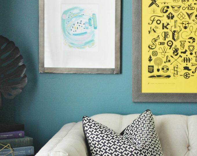 Dedar Pillow Cover - Black and White Geometric Woven Pillow Cover - Black Home Decor -