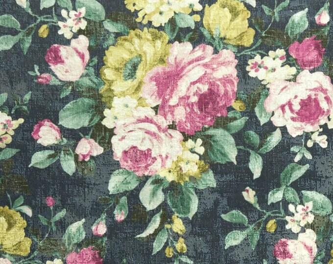 Clarke & Clarke Emeline Fabric - Indigo