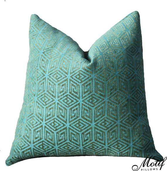 Acid Geometric Pillow Chartreuse Pillow Cover Schumacher Sofia Diamond Pillow Cover Lime Pillow