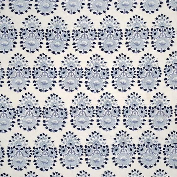John Robshaw Lanka Fabric In Lapis Pillow Cover