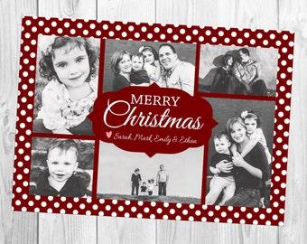 Multiple (six) Photo Christmas Card