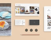 Brand and Identity for lifesyle business Cuttalossa - logo, business cards, packaging design, tags and look book design